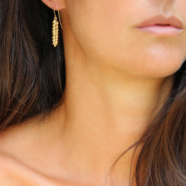 Wheat earring