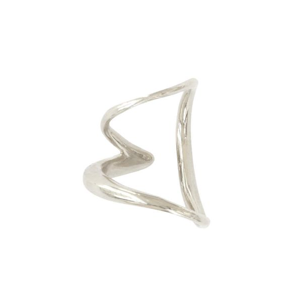 Double ear cuff argent