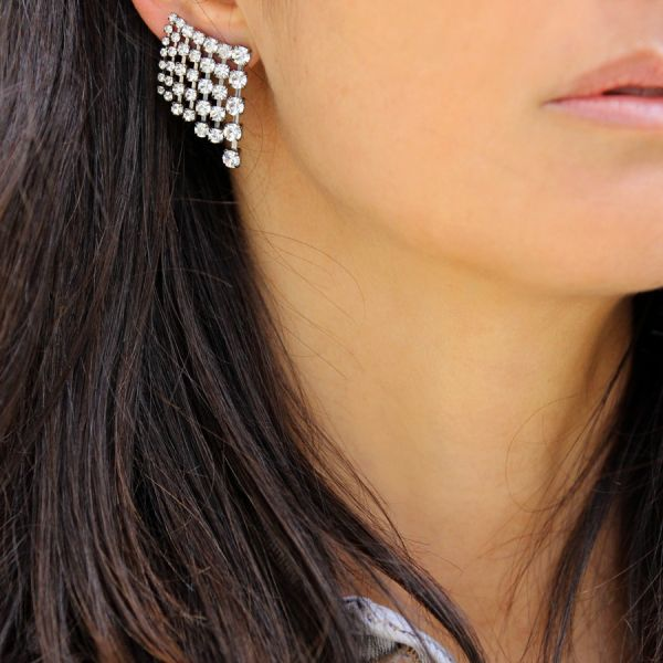 Crystals earring