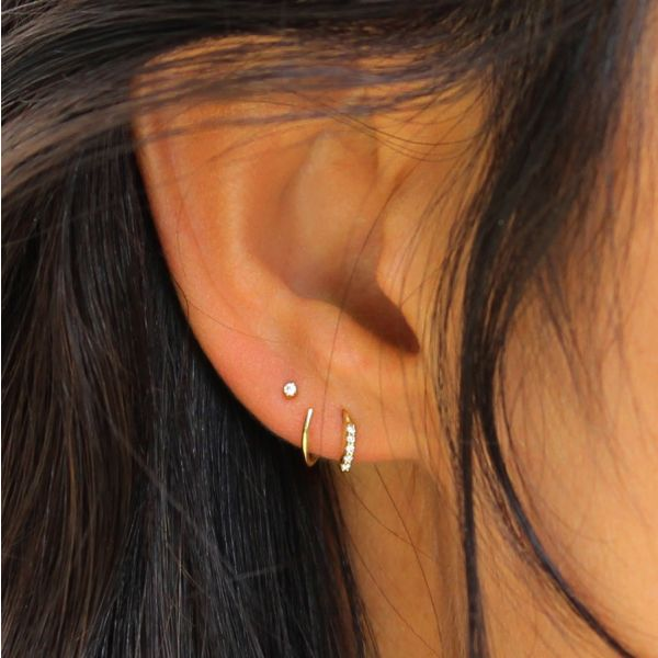 Diamond Snake earring