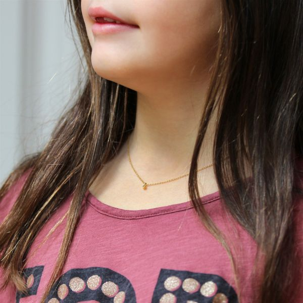 Collier diamant enfant
