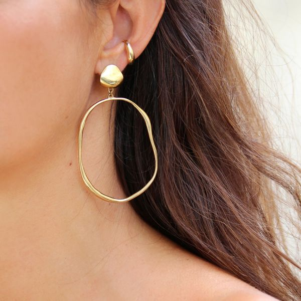 Vero Drop Hoops