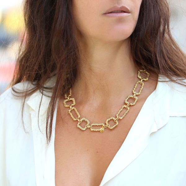 Belem necklace gold