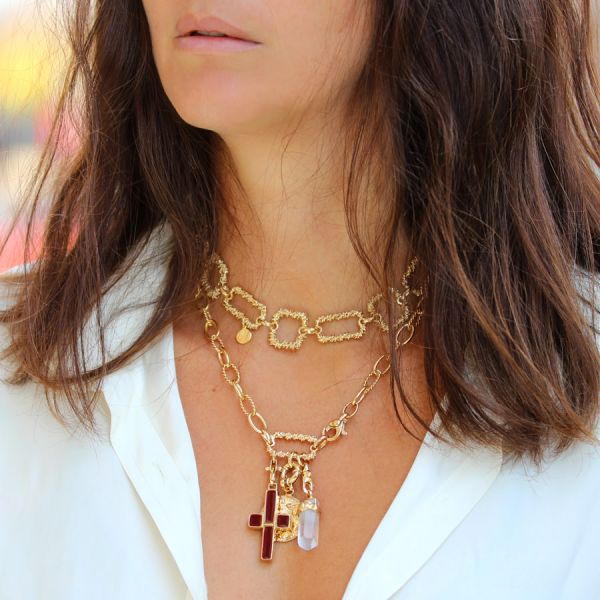 Constantine necklace gold