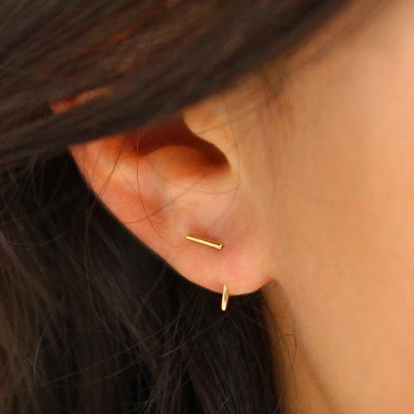Double T earring