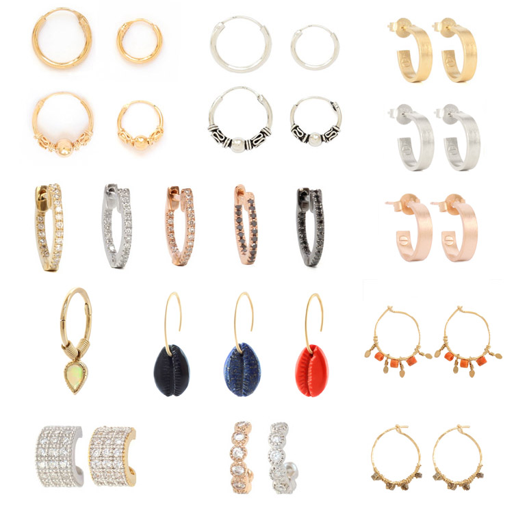 WE WANT THEM ALL: MINI HOOP EARRINGS